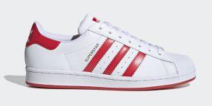 adidas Superstar Lush Red FW6011发售日期