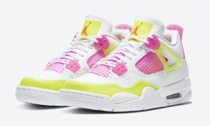 Air Jordan 4 GS Lemon Venom Pink Blast CV7808-100发售信息