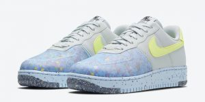 Nike Air Force 1 Crater Foam Pure Platinum Barely Volt White CT1986-001发售日期信息