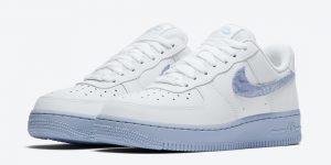 Nike Air Force 1 White Light Blue CZ0377-100发售日期