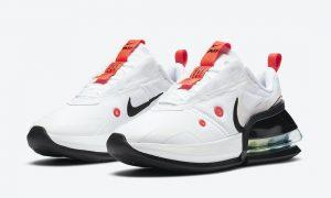 Nike Air Max Up White Platinum Tint Black Bright深红CK7173-100发售日期