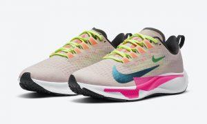 Nike Air Zoom Pegasus 37 Premium Barely Rose Pink Bright云杉CQ9977-600发售日期