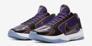 Nike Kobe 5 Protro Lakers CD4991-500发售日期