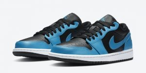 Air Jordan 1 Low Laser Blue 553558-410发售日期