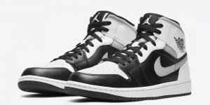 Air Jordan 1 Mid White Shadow 554724-073发售日期