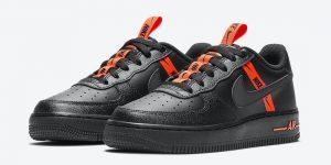 Nike Air Force 1 Black Orange CT4683-001发售日期