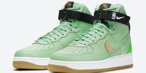 Nike Air Force 1 High NBA Green CT2306-100发售日期