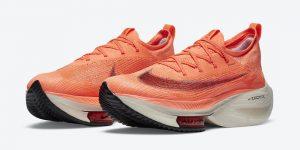 Nike Air Zoom Alphafly NEXT%Orange CI9925-800发售日期