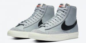 Nike Blazer Mid 77 Vintage Grey黑色BQ6806-001发售日期信息
