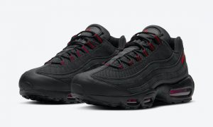 Nike Air Max 95 Black Red DD7114-001发售日期