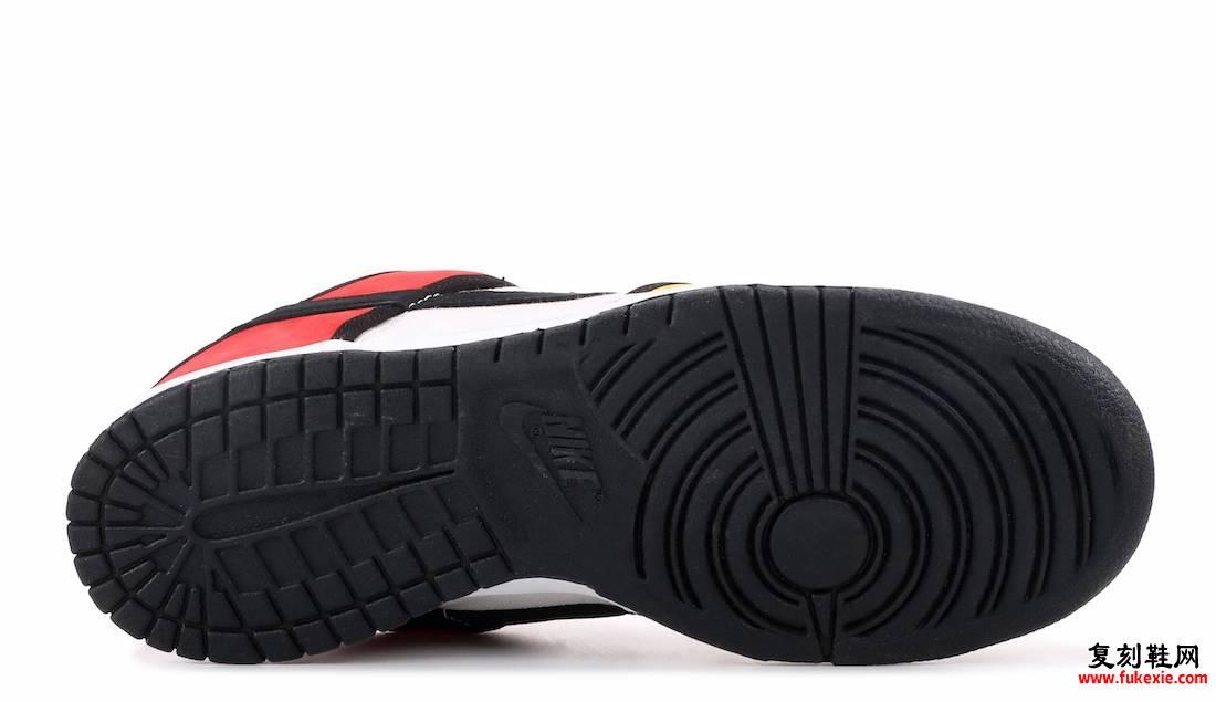 Nike SB Dunk Low Piet Mondrian 304292-702 2008发售日期