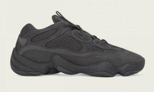 adidas Yeezy 500 Utility Black 2020发售日期