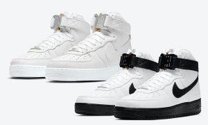 Alyx Nike Air Force 1 High White Black Triple White发售日期