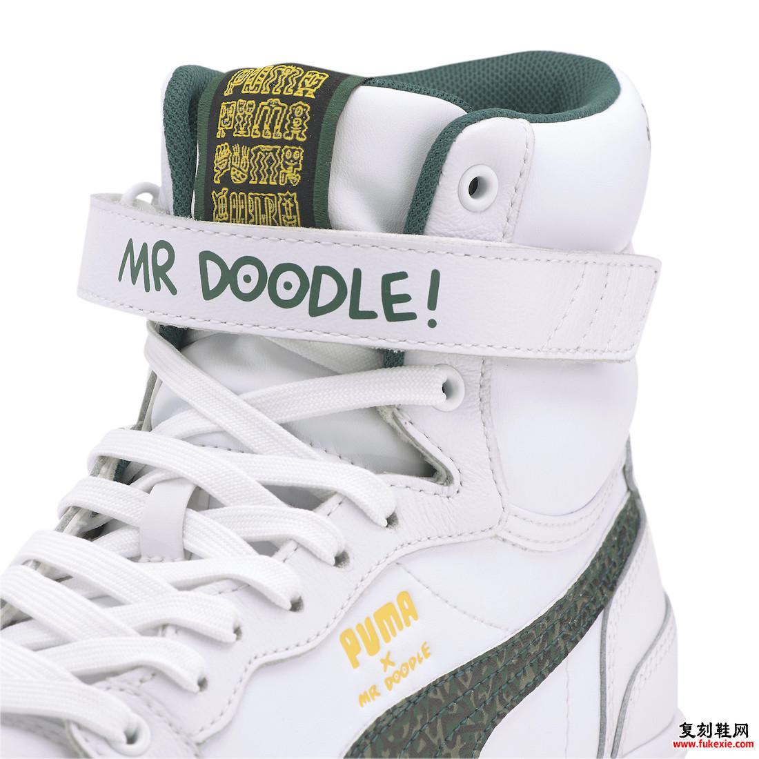 Mr Doodle Puma Sky LX Mid 374219-01发布日期信息