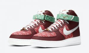 Nike Air Force 1 High Christmas DC1620-600发售日期