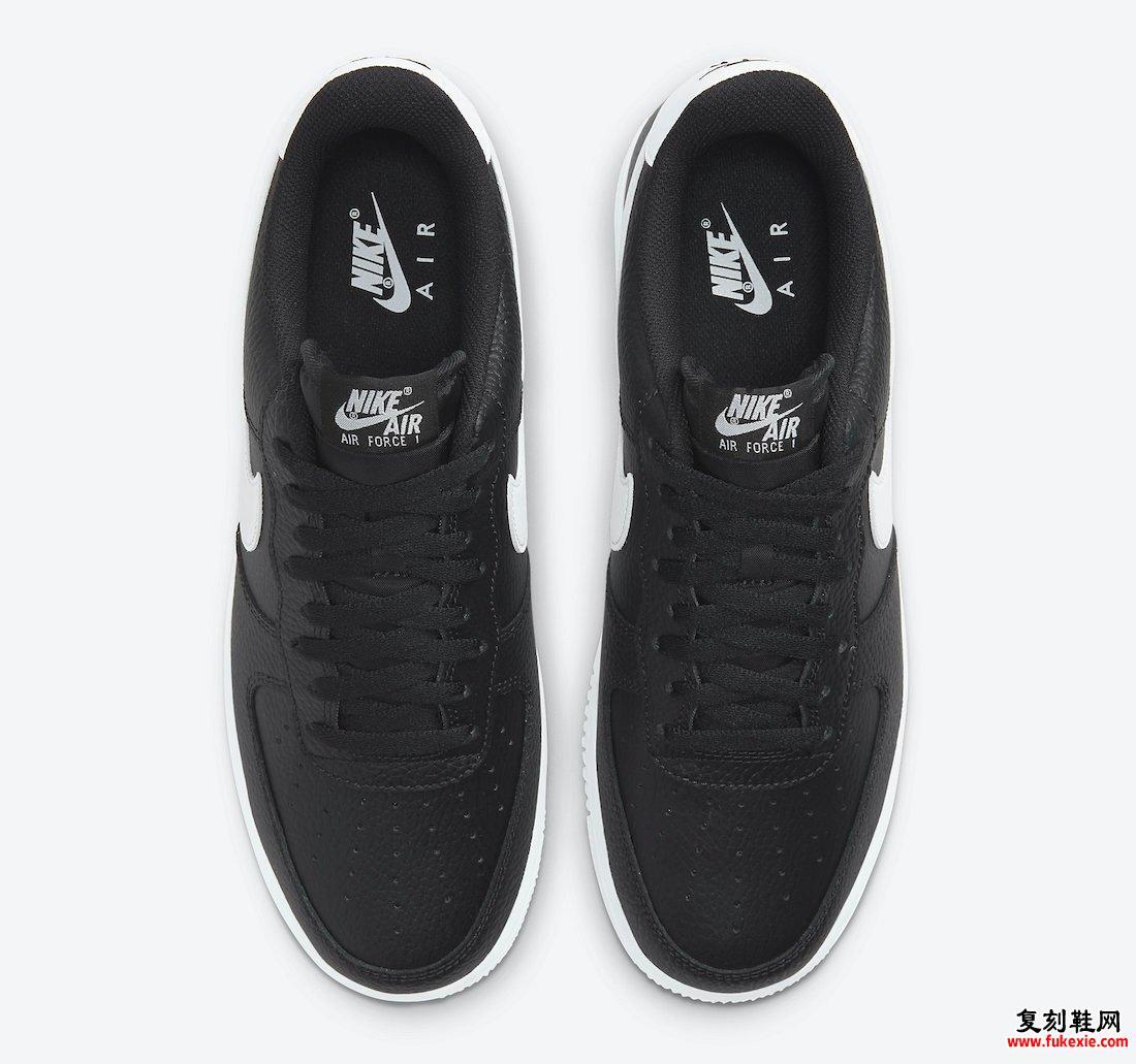 Nike Air Force 1 Low Black White CT2302-002发售日期