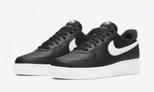 Nike Air Force 1 Low Black White CT2302-002发售日期