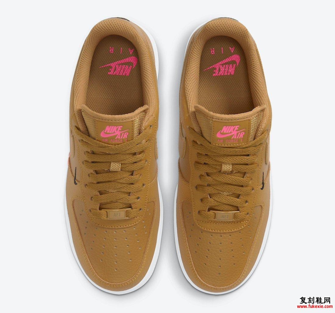 Nike Air Force 1 Low Wheat Pink CT1989-700发售日期