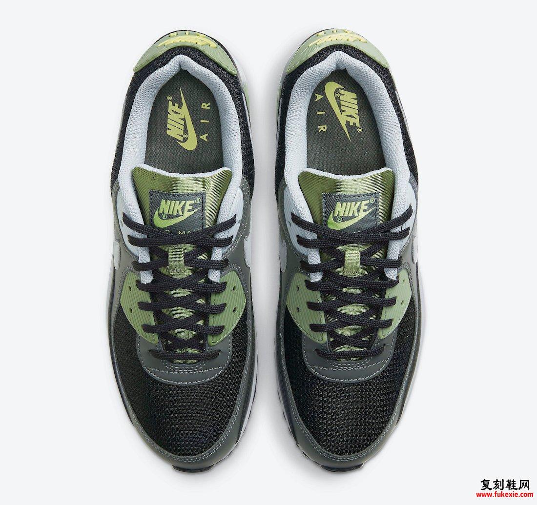 Nike Air Max 90 Oil Green CV8839-300发售日期
