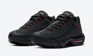 Nike Air Max 95 Black Red DD7114-001发售日期信息