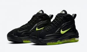 Nike Air Total Max Uptempo Black Volt DA2339-001发售日期