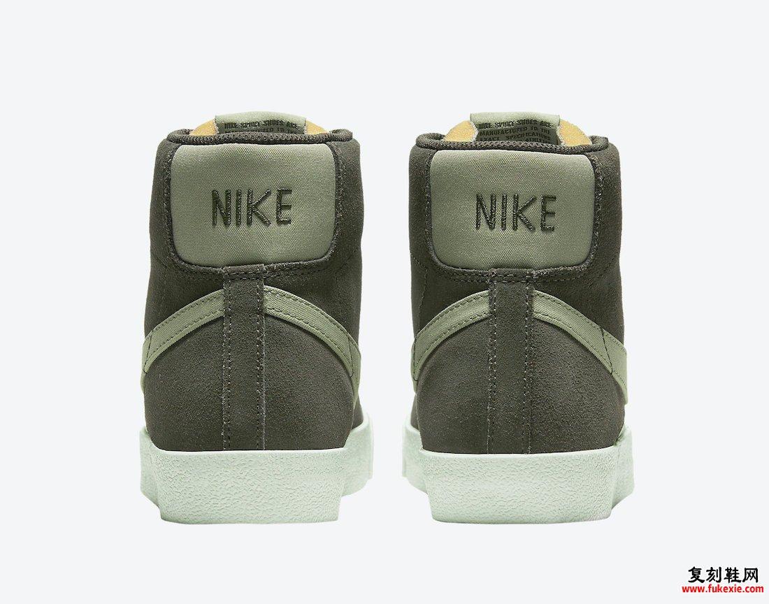 Nike Blazer Mid Olive DH4271-300发售日期