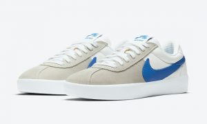 Nike SB Bruin React灰色蓝色白色CJ1661-100发售日期