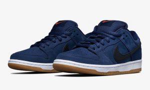Nike SB Dunk Low Pro ISO海军蓝胶CW7463-401发售日期