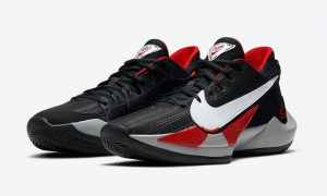 Nike Zoom Freak 2 Bred Black White University Red CK5424-003发售日期信息
