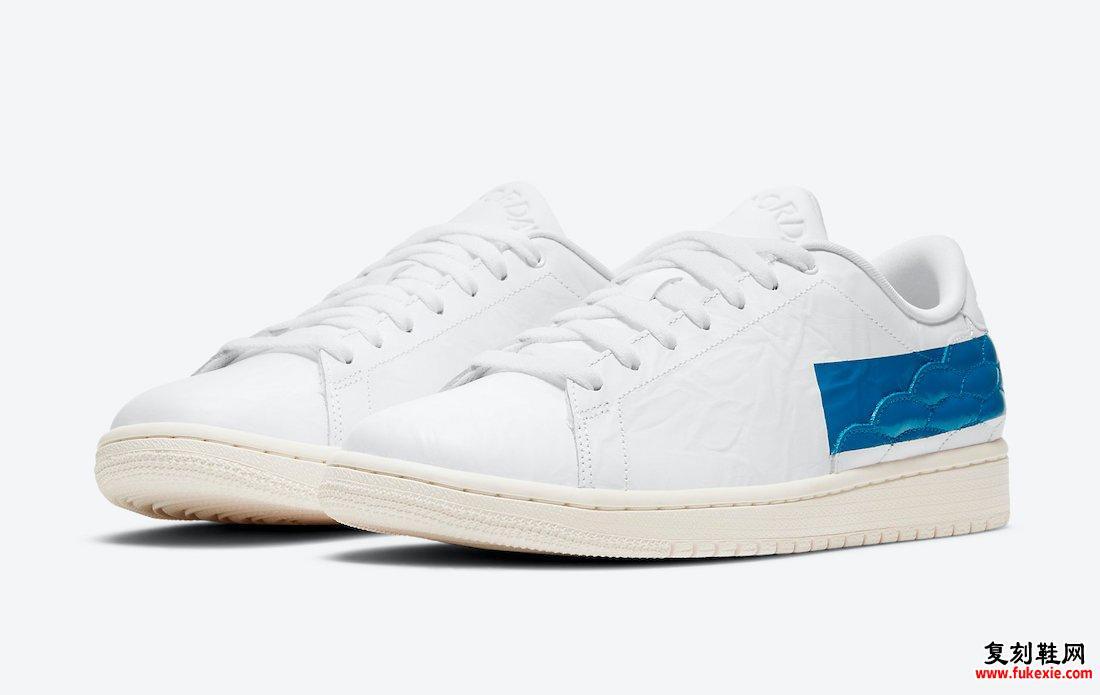 Air Jordan 1 Center Court White Military Blue Sail DJ2756-103发售日期信息