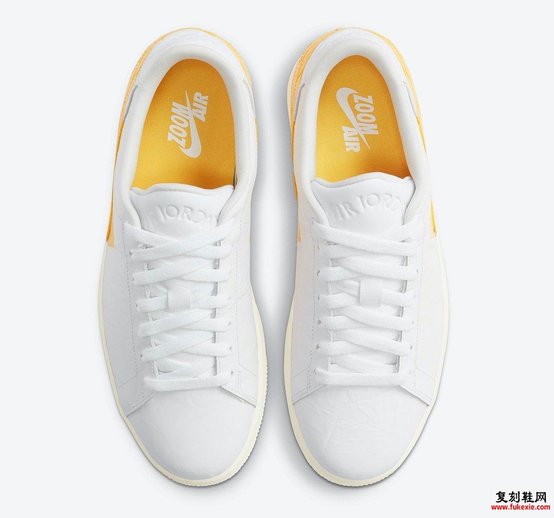 Air Jordan 1 Center Court White University Gold Sail DJ2756-102发售日期信息