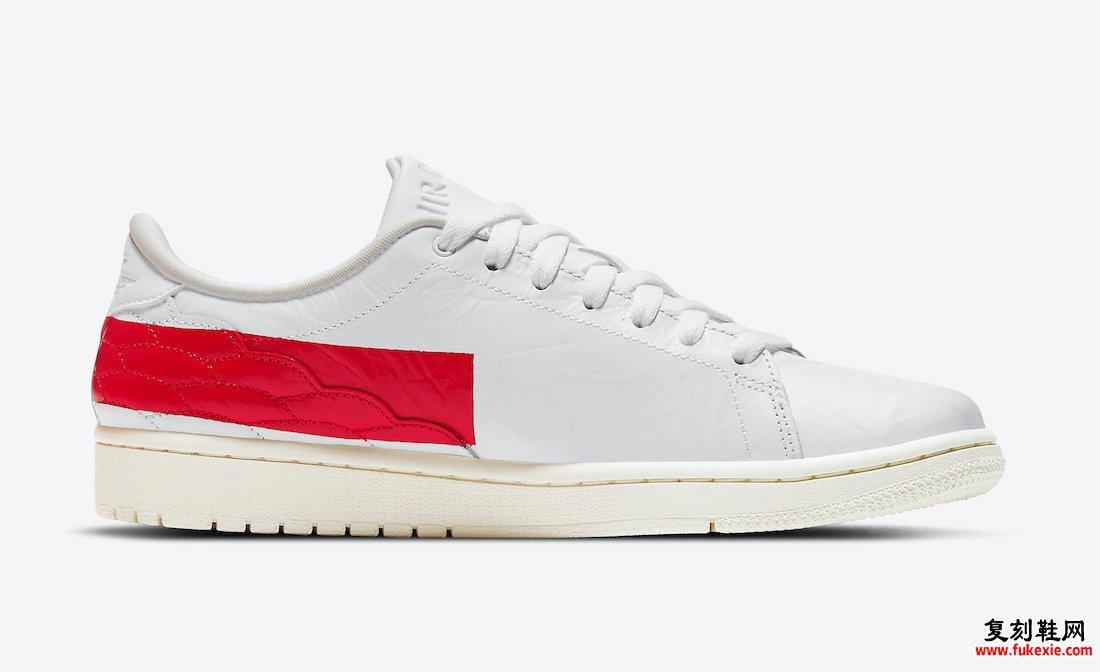 Air Jordan 1 Center Court White University Red Sail DJ2756-101发售日期信息