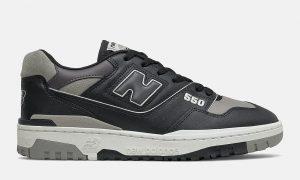 New Balance 550暗黑灰色BB550SR1发售日期信息