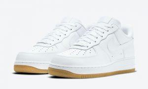 Nike Air Force 1 Low White Gum DJ2739-100发售日期