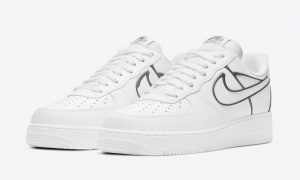 Nike Air Force 1 Low White Metallic Gray DH4098-100发售日期信息