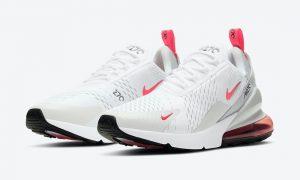 Nike Air Max 270 White Laser Fuchsia DD7120-100发售日期