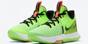 Nike LeBron Witness 5 Grinch CQ9381-300发售日期