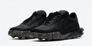 Nike Waffle Racer Crater Black DD2866-001发布日期信息