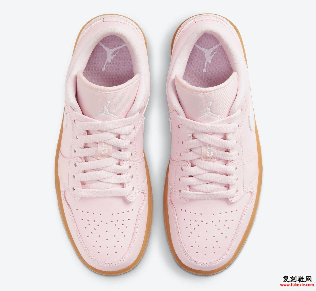 Air Jordan 1 Low Arctic Pink Gum DC0774-601发售日期
