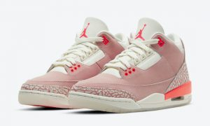 Air Jordan 3 Rust Pink Crimson CK9246-600发售日期