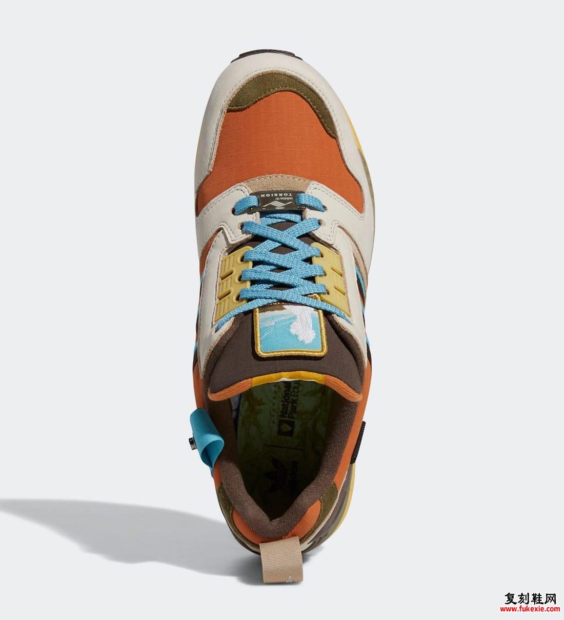 国家公园基金会adidas ZX 8000 Yellowstone FY5168发售日期信息