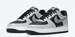 Nike Air Force 1 Low 3M Reflective Snake DJ6033-001 2021发售日期