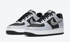 Nike Air Force 1 Low 3M Reflective Snake DJ6033-001 2021发售日期