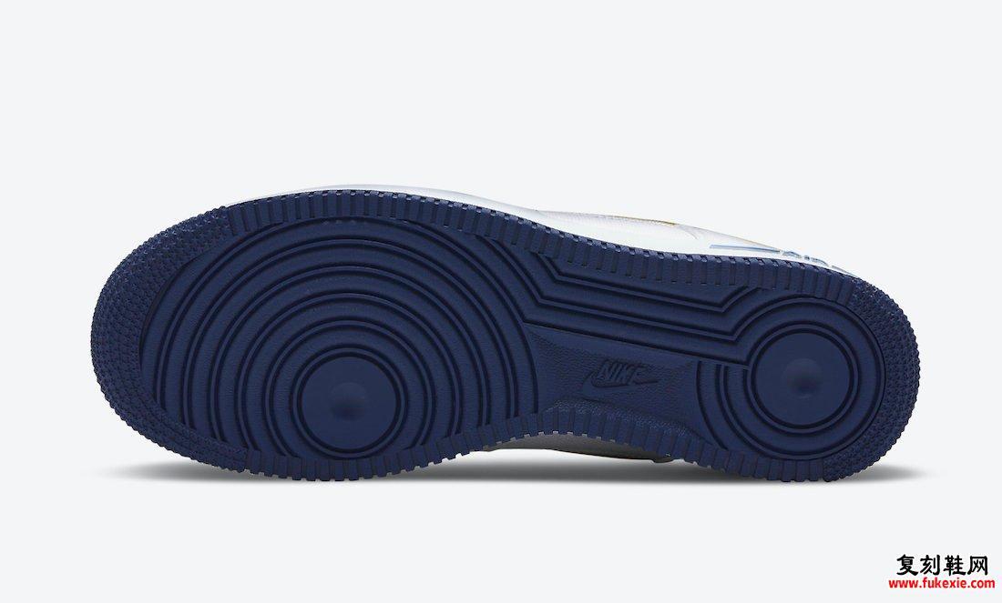Nike Air Force 1 Low White Canvas DB3541-100发售日期