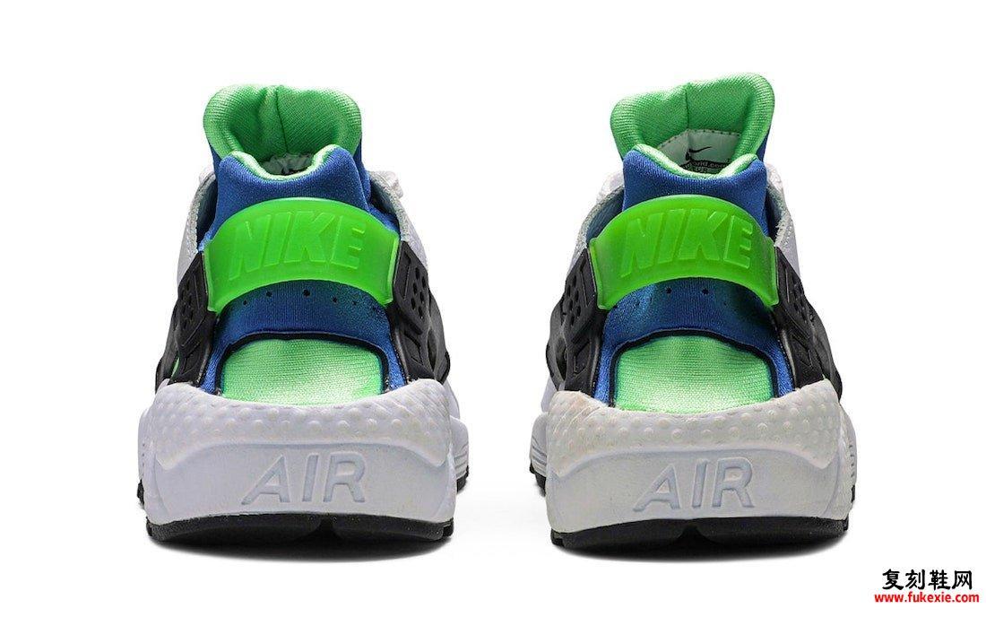Nike Air Huarache Scream Green DD1068-100发售日期