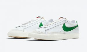 Nike Blazer Low Pine Green DA6364-100发售日期