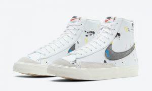 Nike Blazer Mid Paint Splatter DC7331-100发售日期