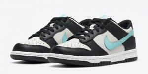 Nike Dunk Low GS灰黑色蓝色CW1590-003发售日期