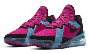 Nike LeBron 18 Low Fireberry CV7562-600发售日期