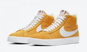 Nike SB Blazer Mid University Gold 864349-700发售日期信息